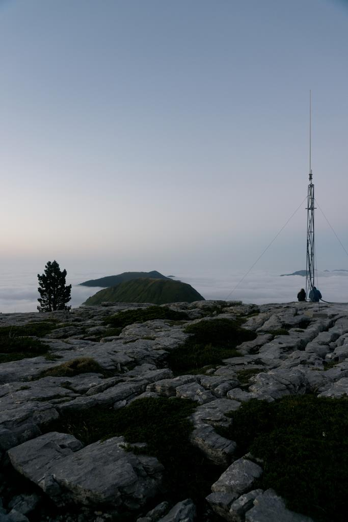 La mer de nuages à la Pierre Saint-Martin