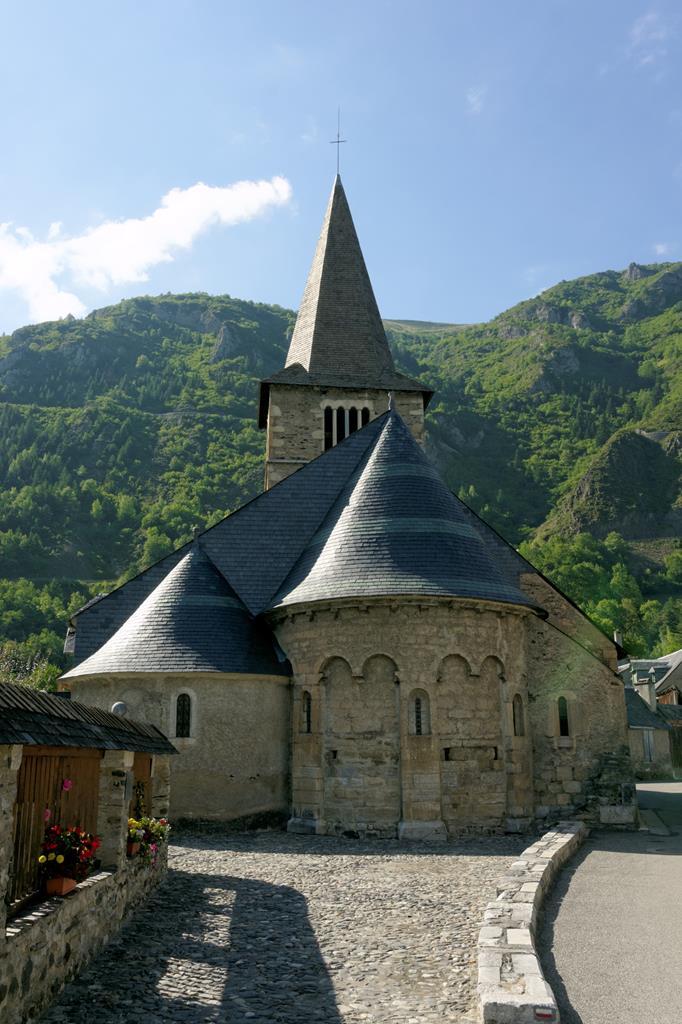 L'église de Vielle-Aure