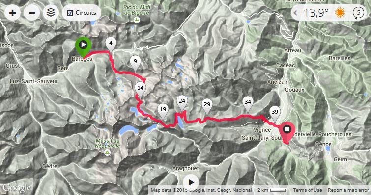 Tracé GPS 12